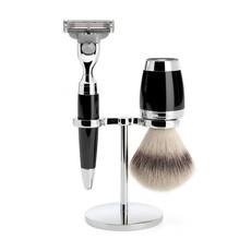 Shaving Set Stylo 3-part - Black - Mach3®