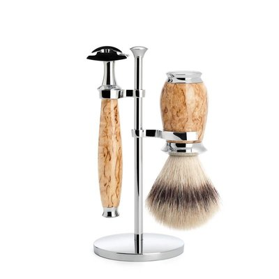S31H55SR - Shaving Set Purist - Maserbirke - Saf.Razor - Fibre®