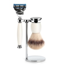 Shaving Set Sophist 3-part - Porcelain - Fusion®