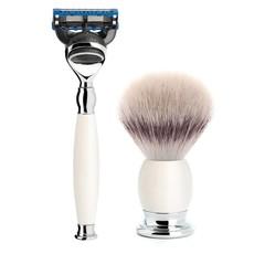 Shaving Set Sophist 4-part - Porcelain - Fusion®