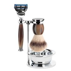 Shaving Set Sophist 4-part - Genuine horn - Fusion®