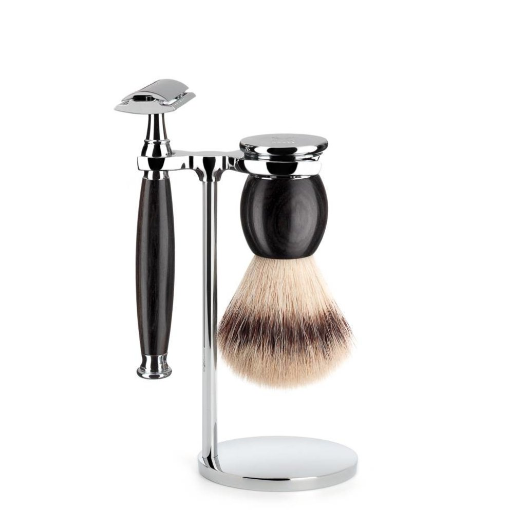 Shaving Set Sophist 3-part - Blackwood - Saf.Razor