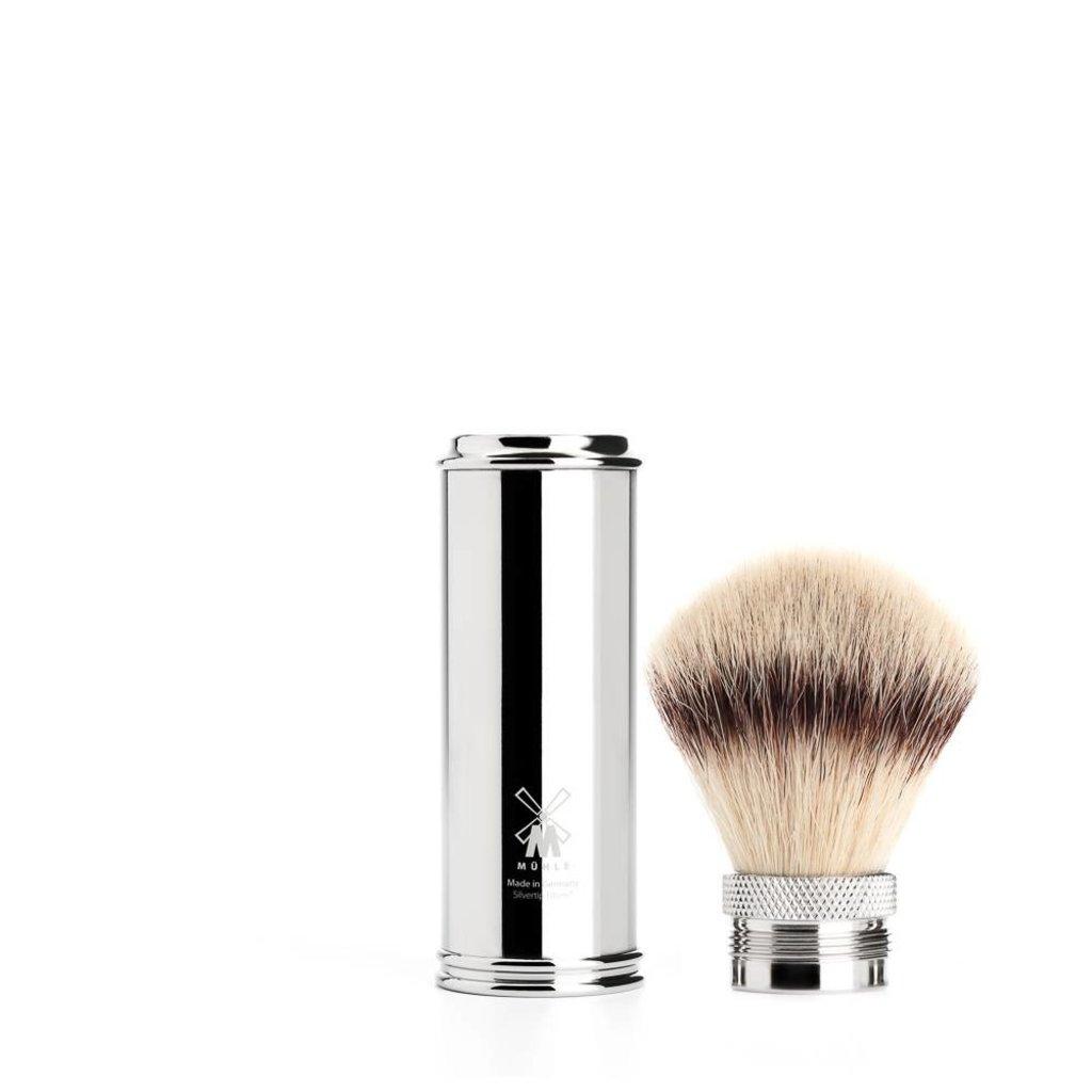 Travel Shaving Brush Silvertip Fibre® Chrome