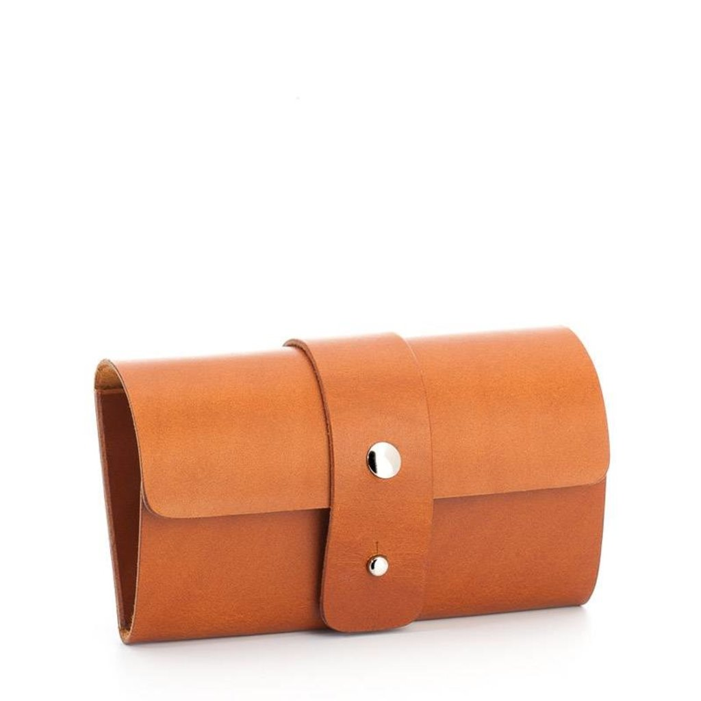Leather bag size S
