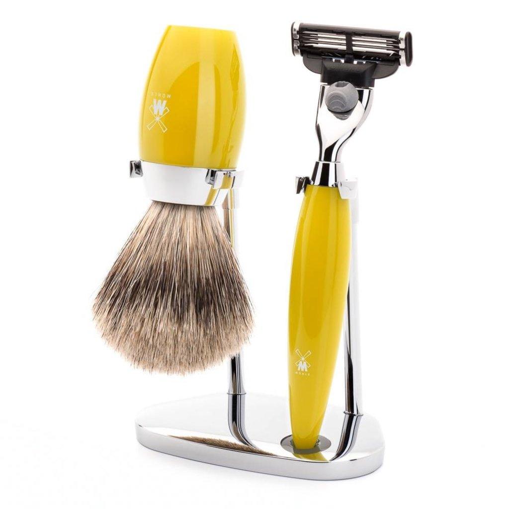Holder Shaving Brush Kosmo - Chrome
