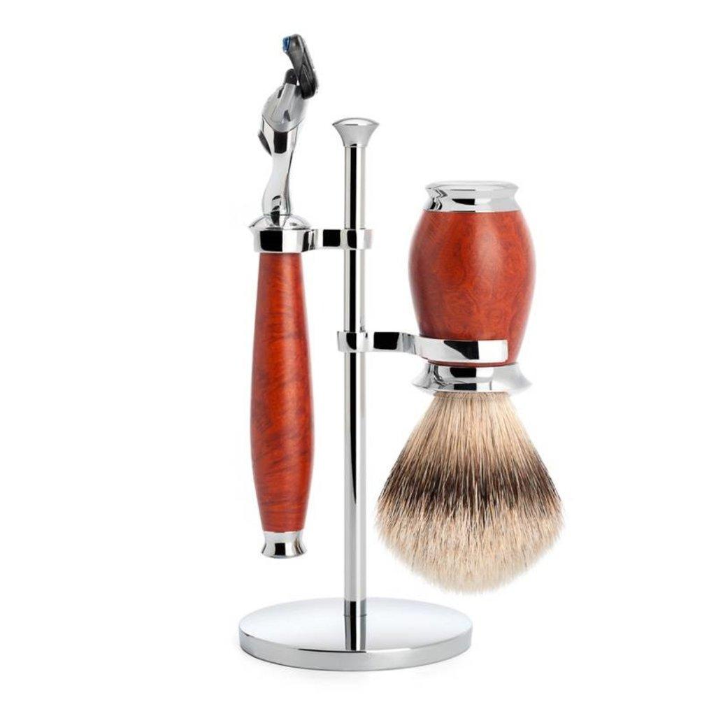 Holder Brush and Razor Purist - Chrome