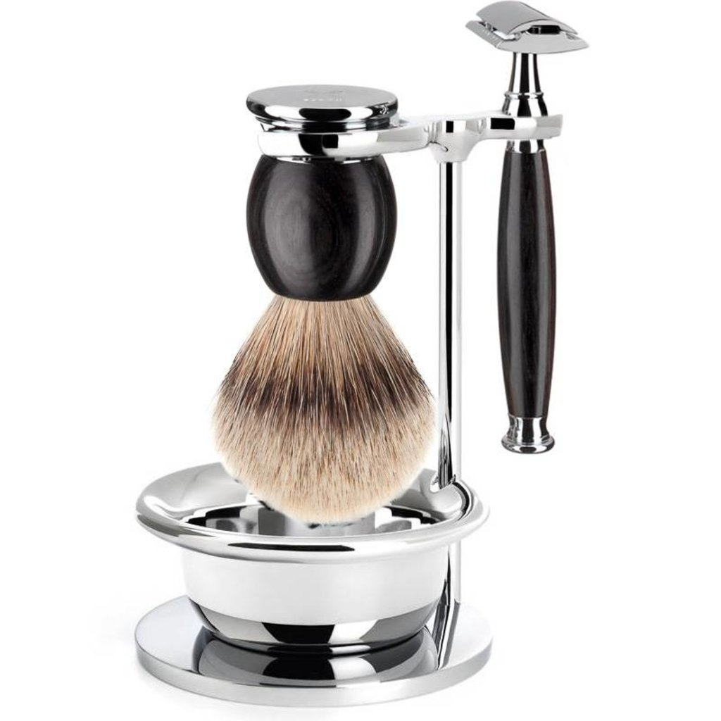 Holder Brush and Razor Sophist - Chrome