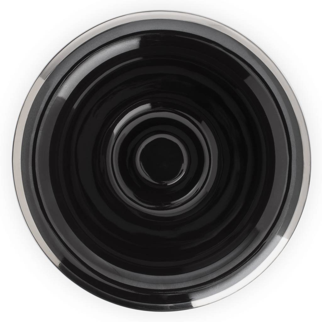 Opschuimbakje - Zwart