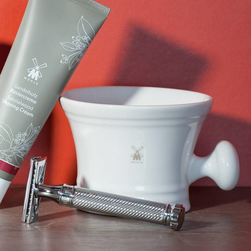Shaving mug - White