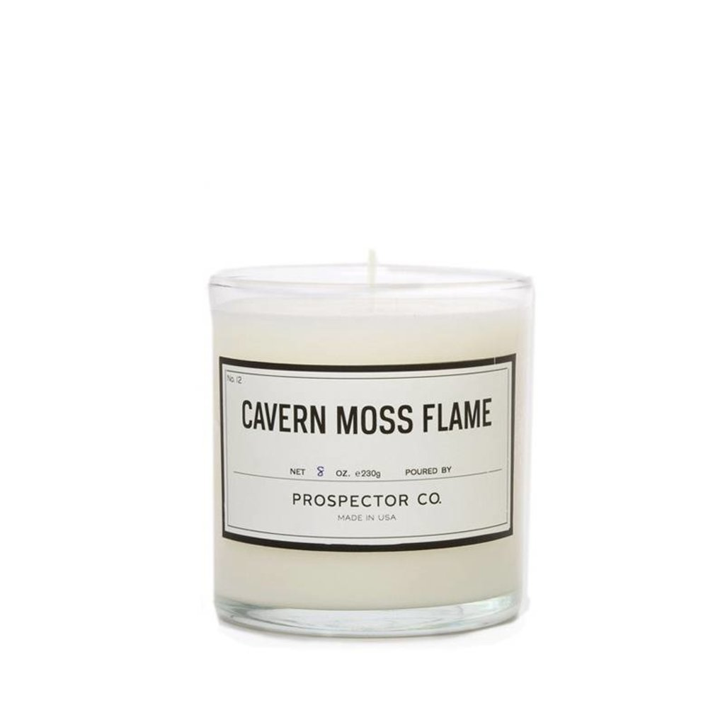 Prospector Co. Candle Cavern Moss Flame 8 oz.