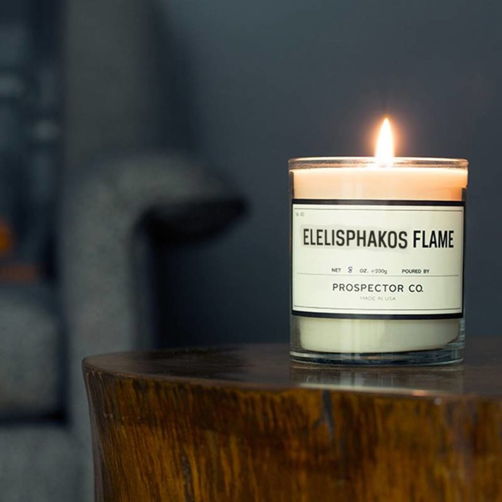 Prospector Co. Candle Eleisphakos Flame 5oz.