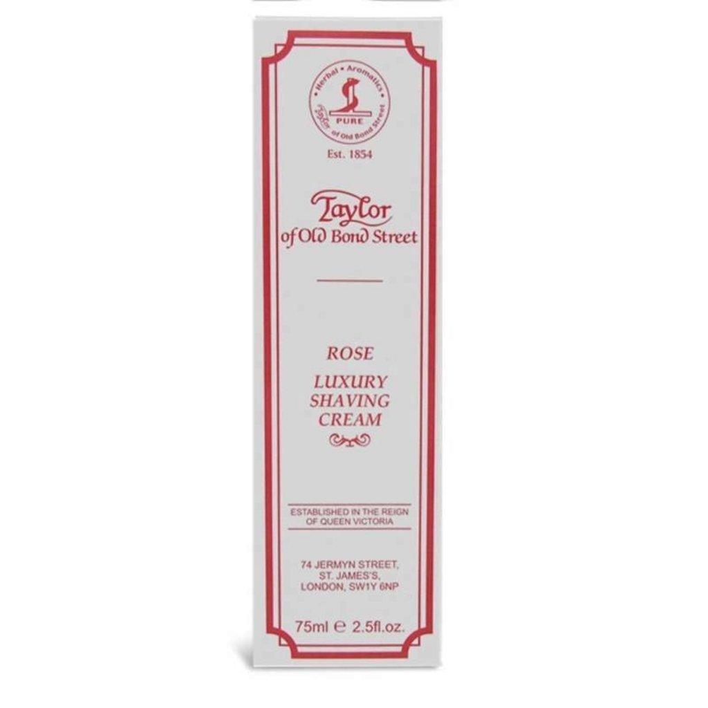 Tube shaving cream 75ml Rose
