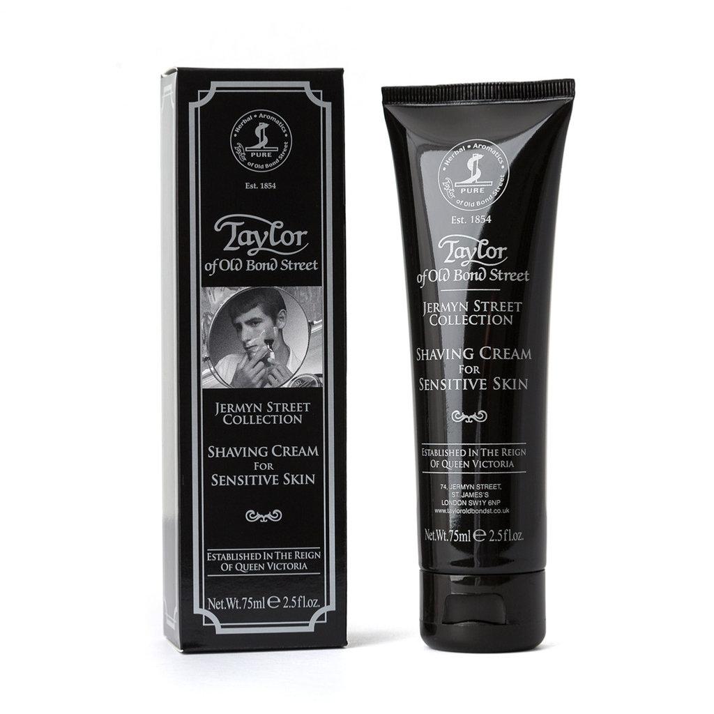 Tube shaving cream Jermyn St Coll for Sensitive Skin 75ml