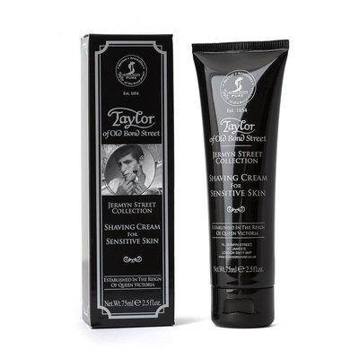 01047 - Tube shaving cream Jermyn St Coll for Sensitive Skin 75ml