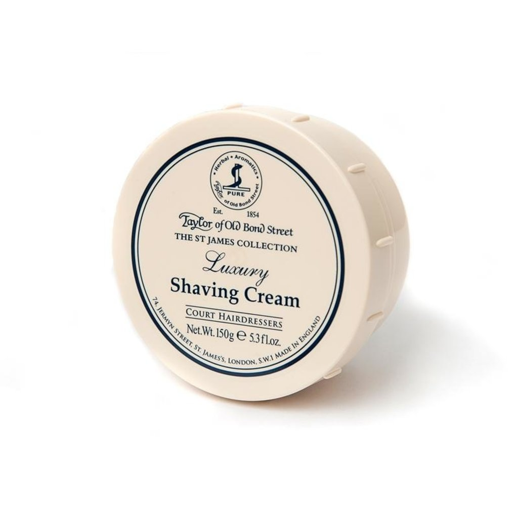 Bowl shaving cream 150g St James Collection