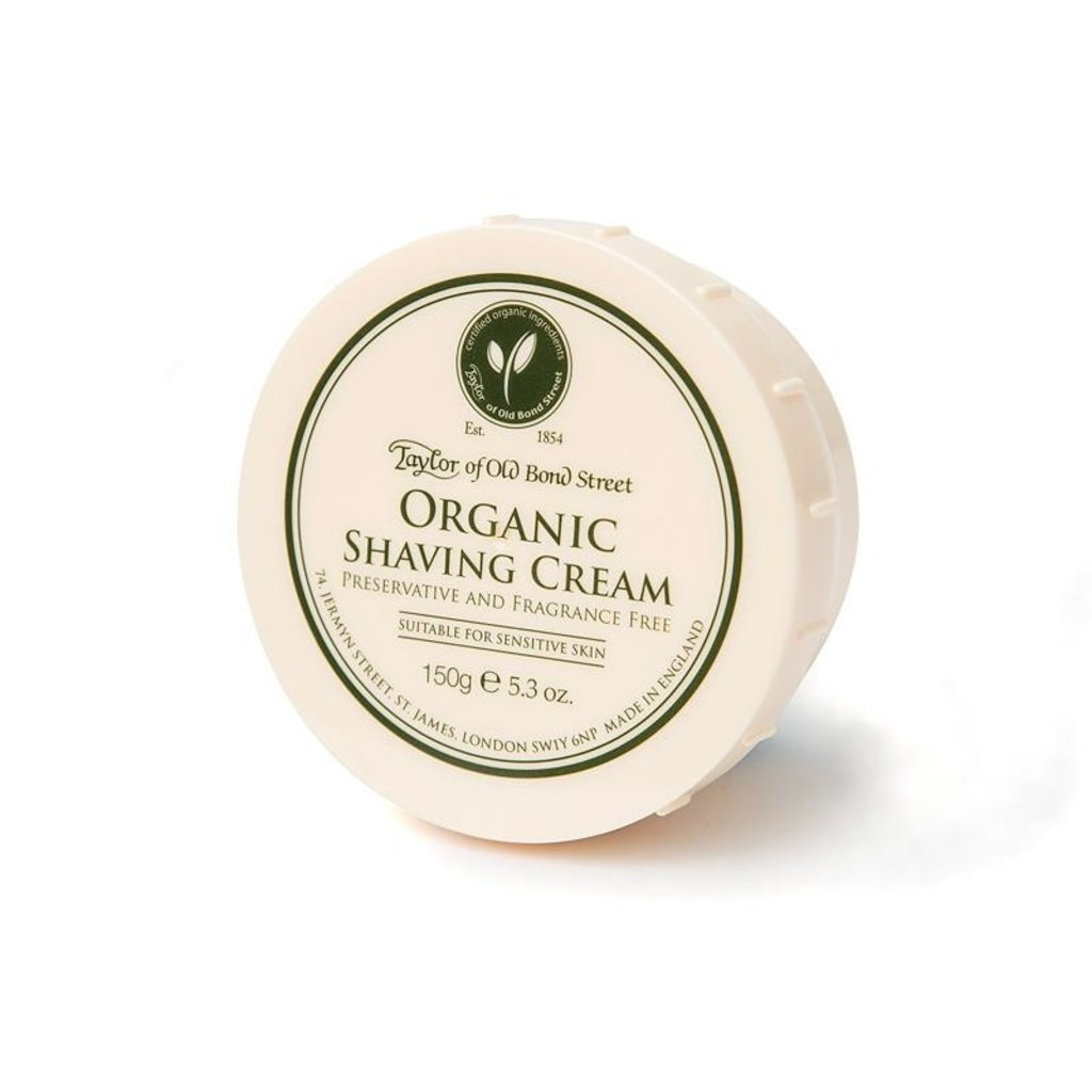 Bowl shaving cream 150g Organic