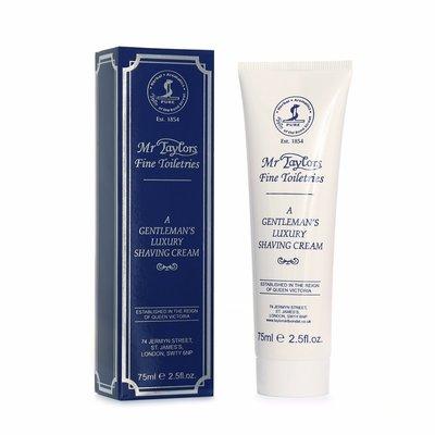 01031 - Tube shaving cream 75ml Mr Taylor