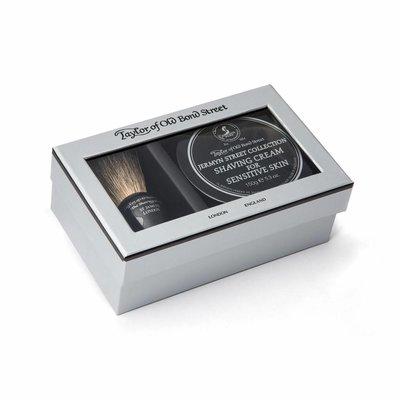 00208 - Giftbox scheerkwast en scheercrème Jermyn Street