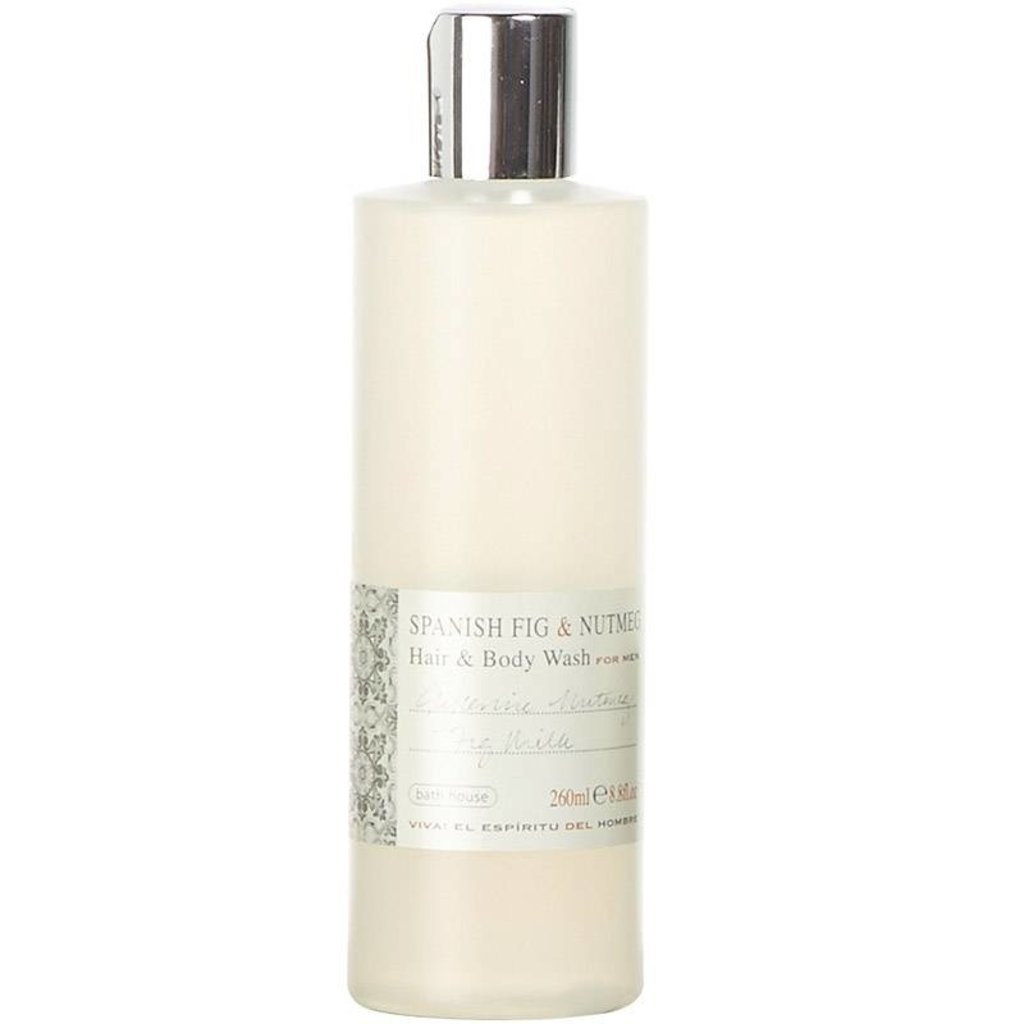 Hair & Body Wash 260ml Spanish Fig & Nutmeg