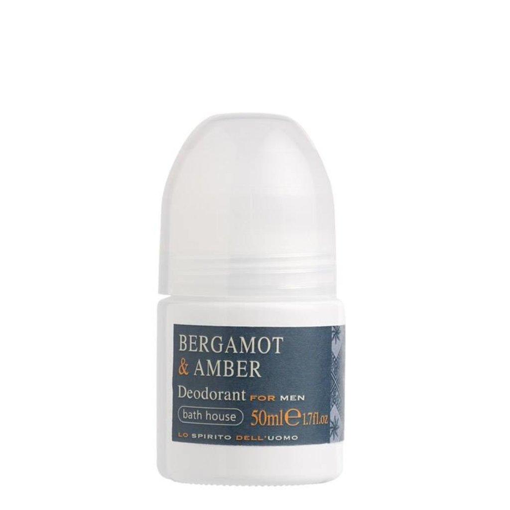 Deodorant 50ml Bergamot & Amber