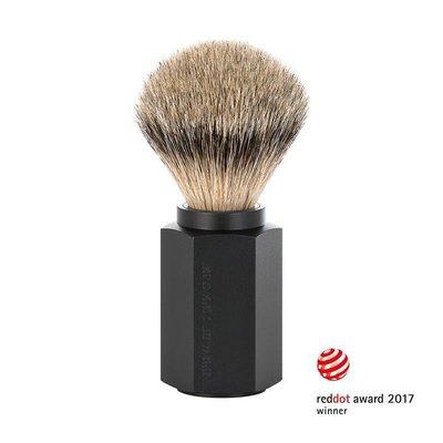 091M-HXG-GRAPHITE - Shaving Brush Silvertip - Graphite