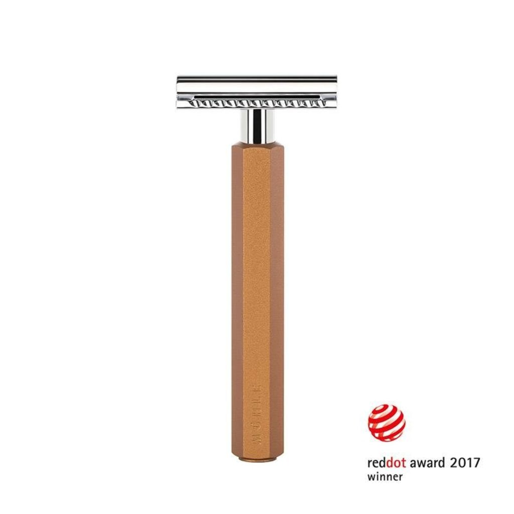 Safety Razor - Bronze - Gesloten Kam