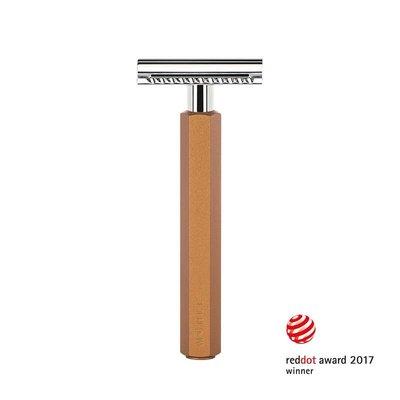 Safety Razor - Bronze - Closed Comb
