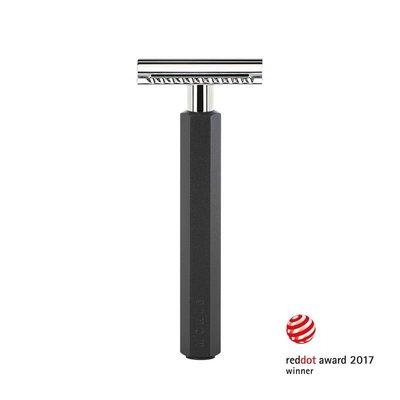RHXG-GRAPHITE-SR - Safety Razor - Graphite - Closed Comb