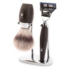 Shaving Set Kosmo 3-part - Bog Oak - Fusion®