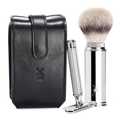 RT3SR - Shaving Set Safety Razor Black