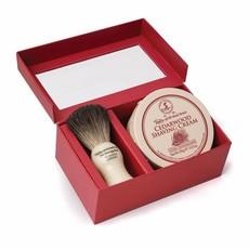 Giftbox Shaving Brush en shaving cream Cedarwood