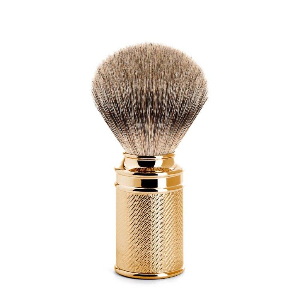 Scheerkwast Silvertip Gold