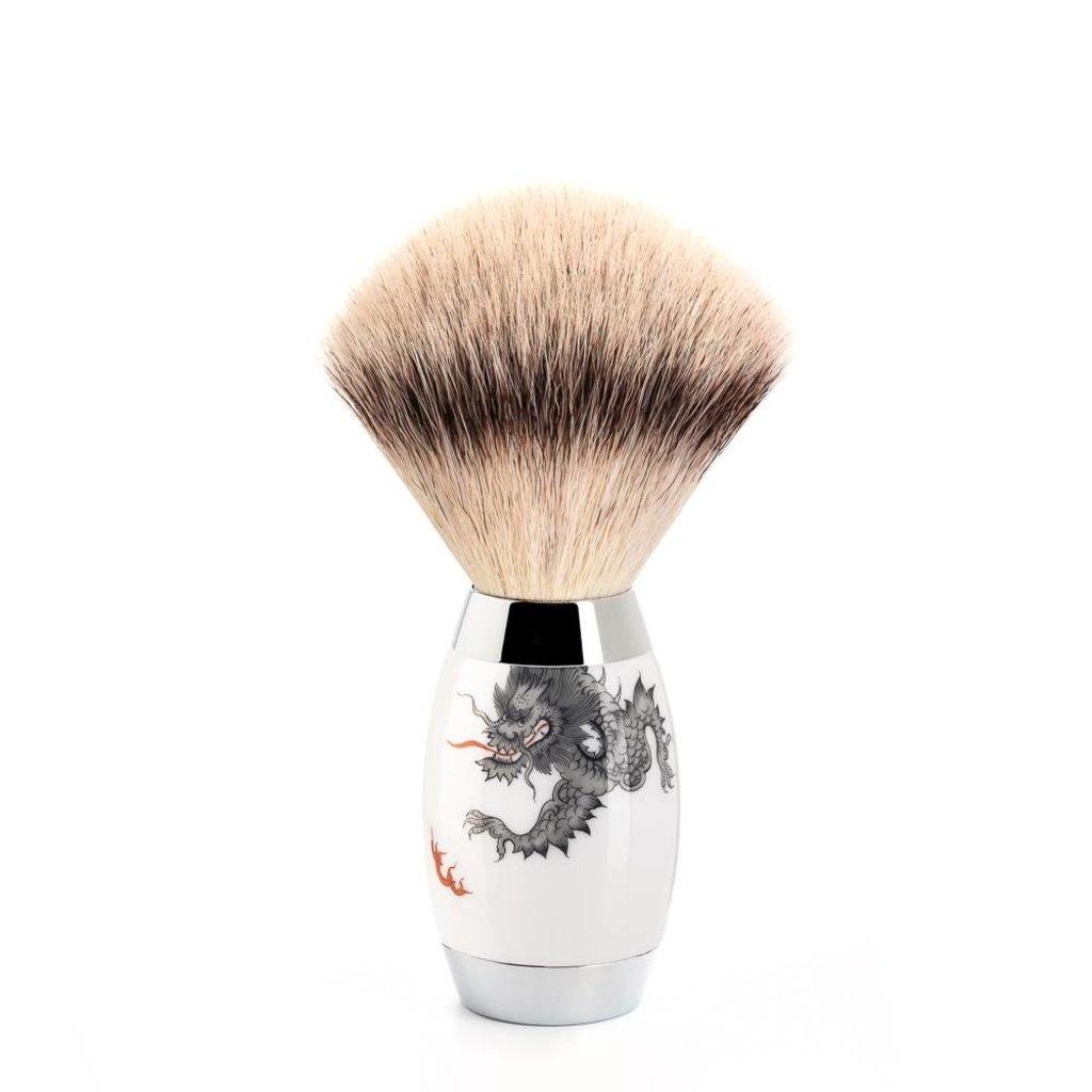 Shaving Brush Silvertip Fibre® - Meissen Porcelain