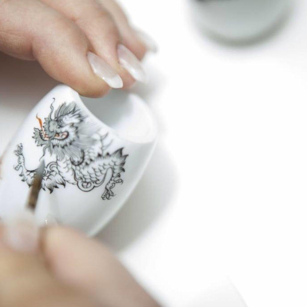 Scheerkwast Silvertip Fibre® - Meissen Porselein