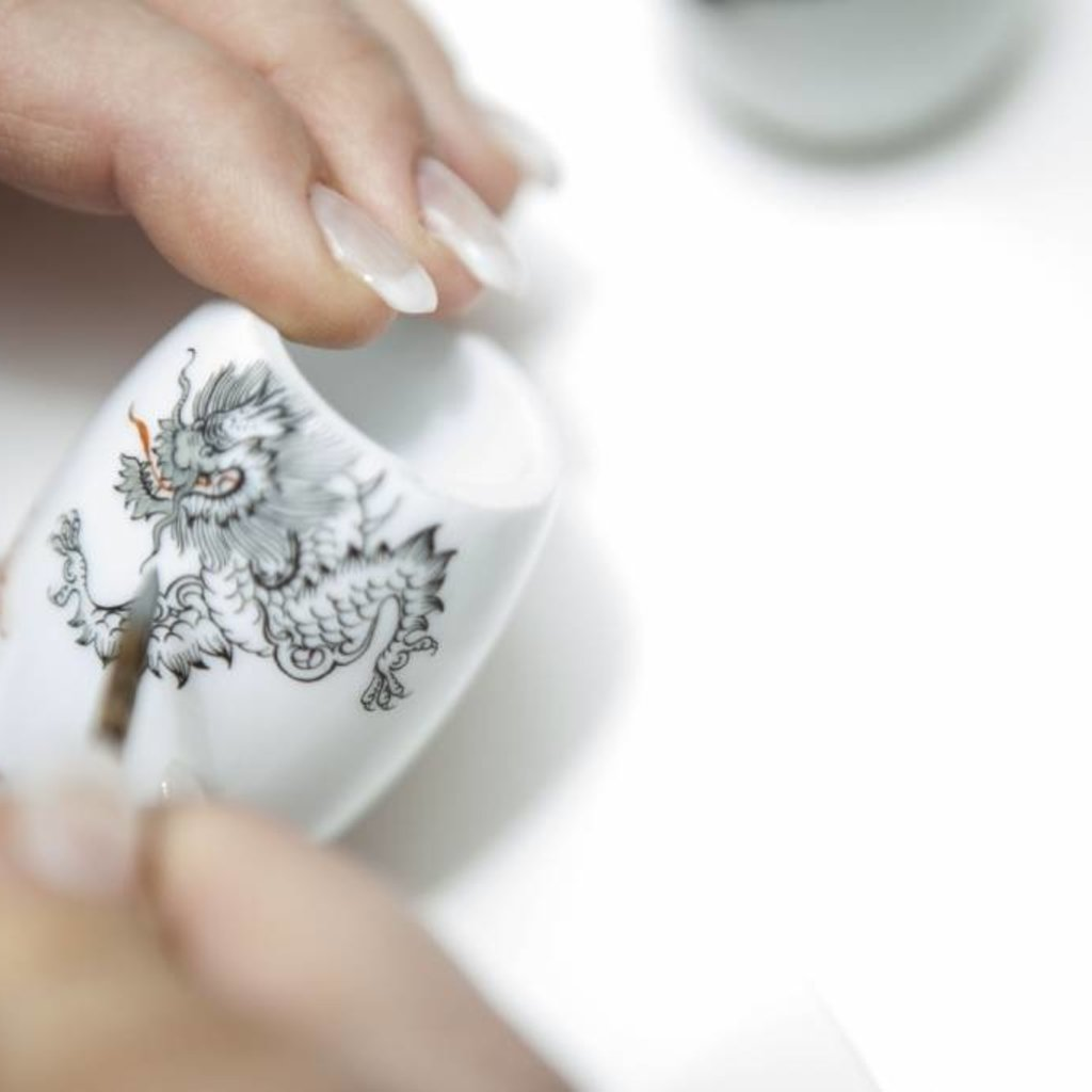 Shaving Set Meissen Porcelain - Saf.Razor - Fibre®