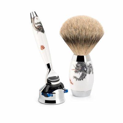 S493ED-MEISSEN-F - Shaving Set Meissen Porcelain - Fusion® & Badger