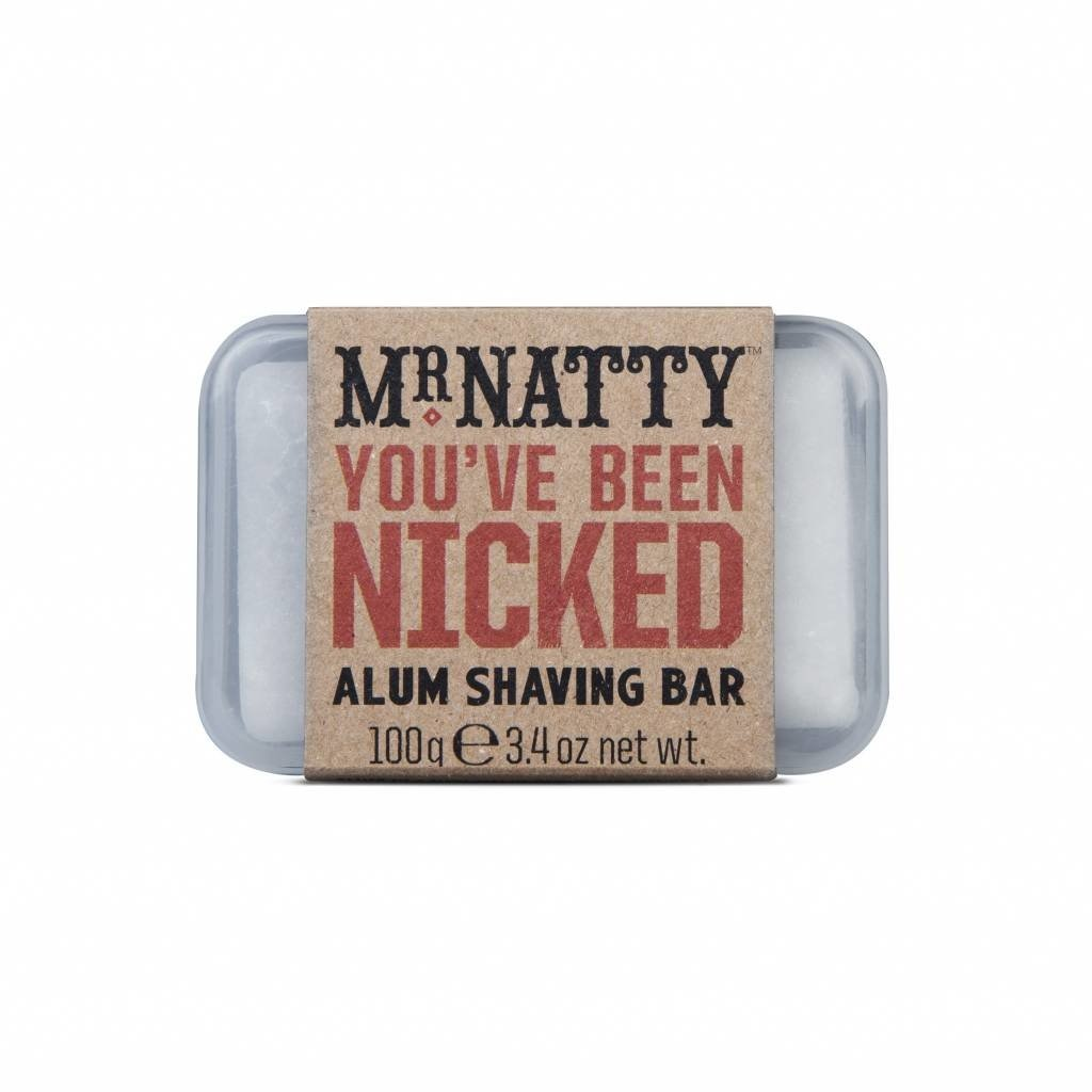 You've Been Nicked Alum Bar