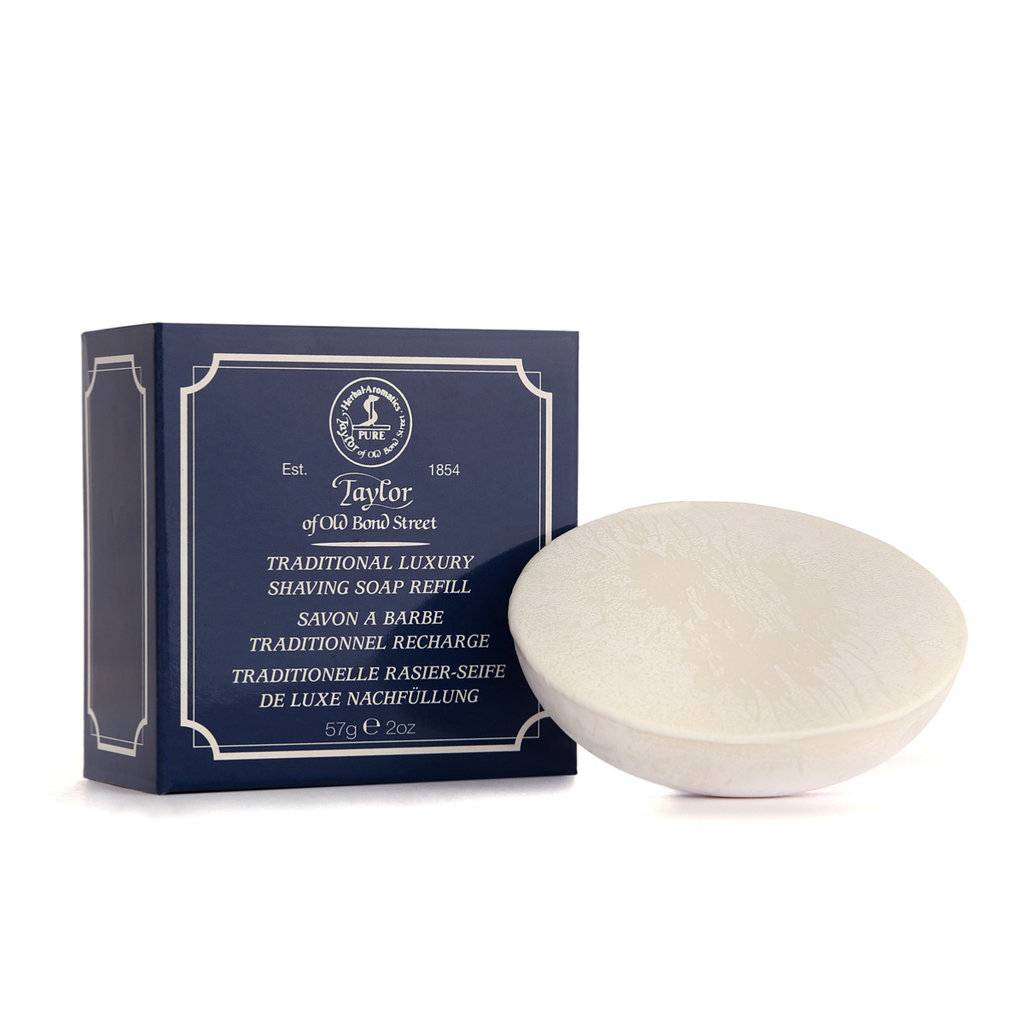 Refill Traditional shaving soap 57g
