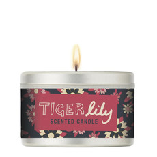 Geurkaars 40hr Tiger Lily