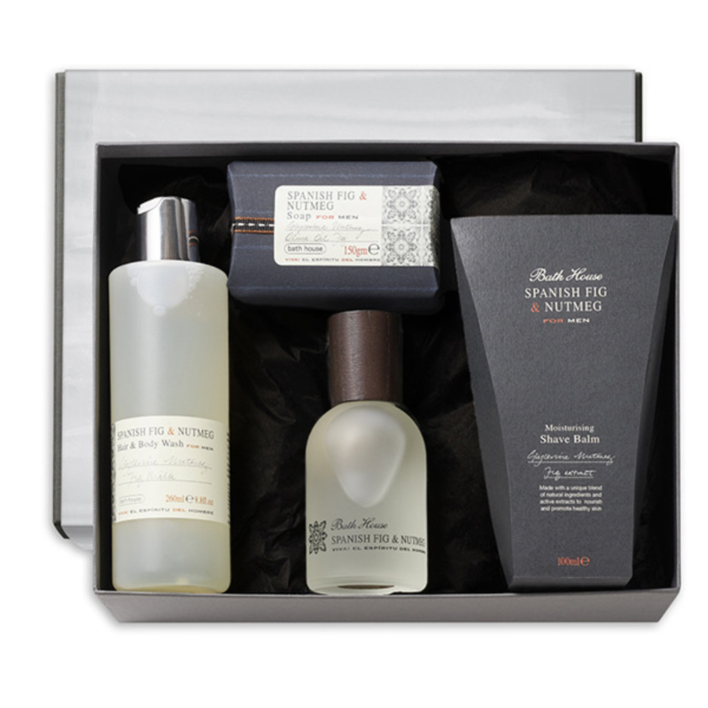 Luxury Cadeauset Spanish Fig & Nutmeg