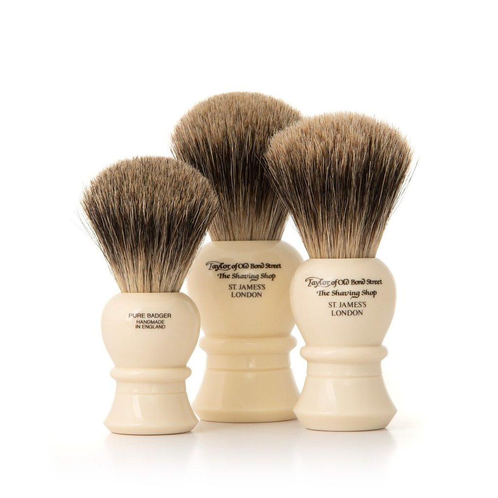 Shaving Brush Pure Badger - size M