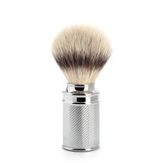 Scheerkwast Silvertip Fibre® - Chroom