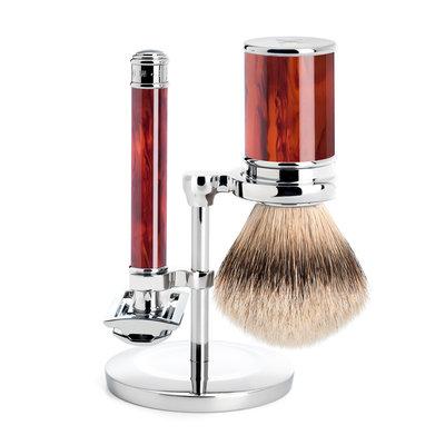 S091M108 - Shaving Set Traditional - Safety razor - Schildpad
