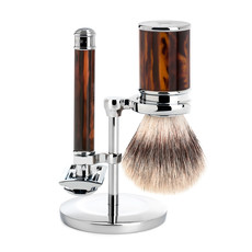 Shaving Set Traditional - Safety razor - Fibre® - Schildpad