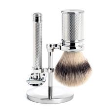 Scheerset Traditional - Safety razor - Fibre® - Chroom