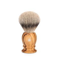 Shaving Brush Silvertip Badger - Olive wood
