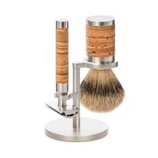 Shaving Set Stainless Steel Silvertip - Rocca