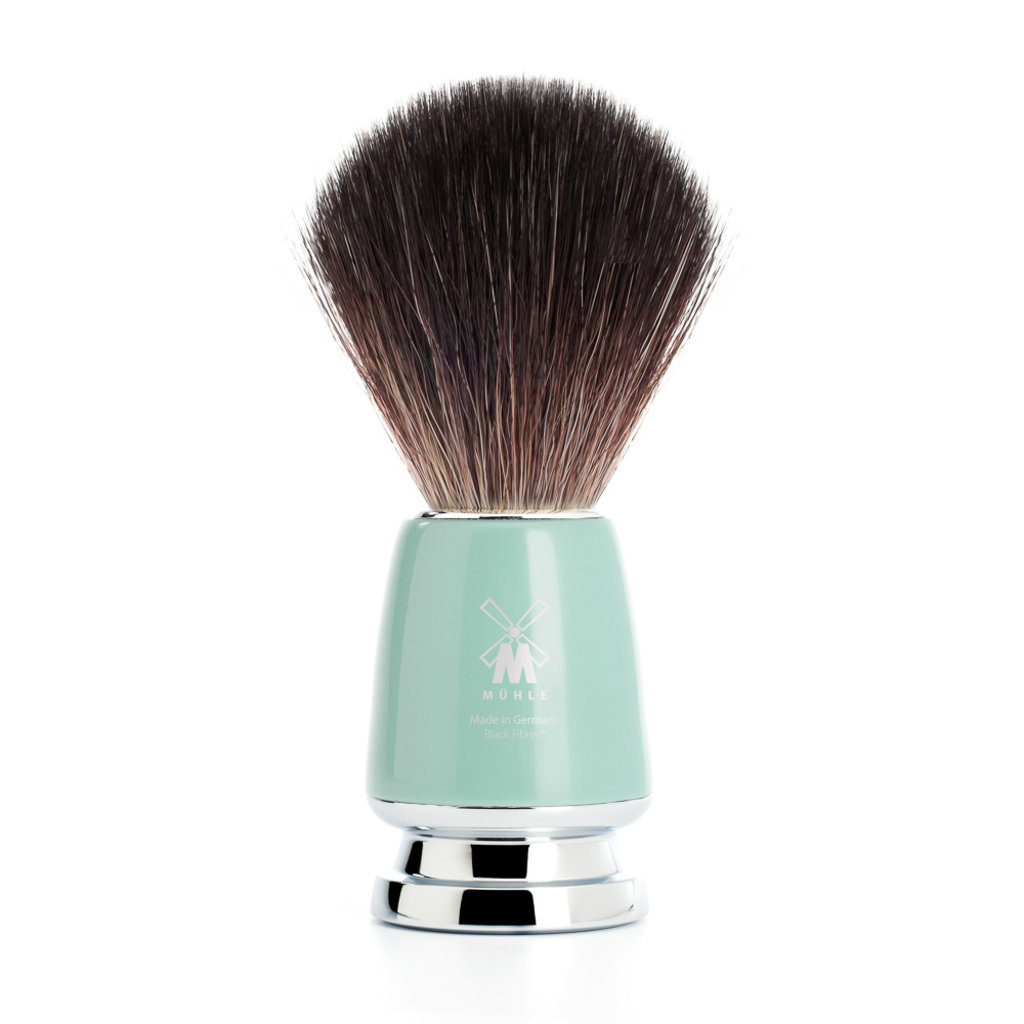 Shaving Brush Black Fibre® - Mint