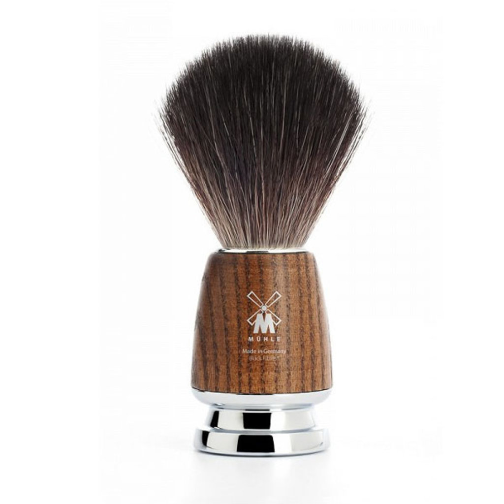 Shaving Brush Black Fibre® - Steamed ash