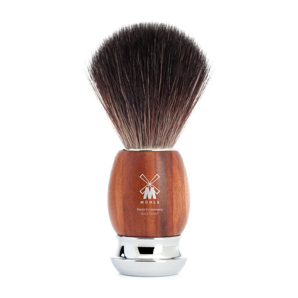 Shaving Brush Black Fibre® - Plumwood